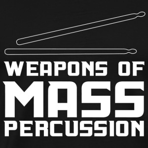 Drumstick - Weapons of Mass Percussion - Men's Premium T-Shirt