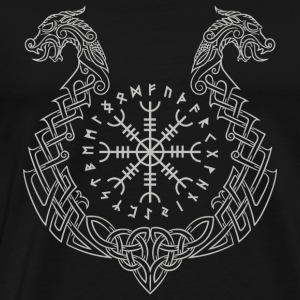 Viking - Viking Helm of Awe - Men's Premium T-Shirt