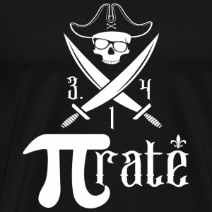Math - Pi for Pirate - Men's Premium T-Shirt