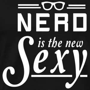 Nerd - Nerd is the New Sexy - Men's Premium T-Shirt