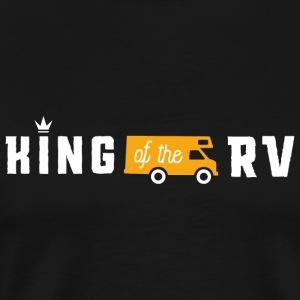 Outdoor - King of the RV! - Men's Premium T-Shirt