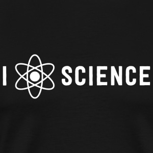 Atom - I atom science - Men's Premium T-Shirt
