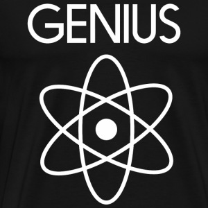 Genius - Geek Genius Elements - Men's Premium T-Shirt