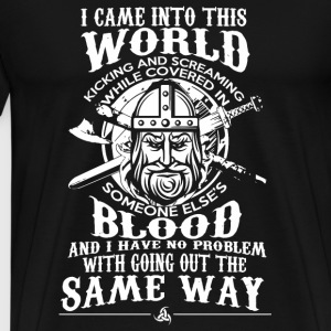 Danish - Danish - Viking Warrior - Men's Premium T-Shirt
