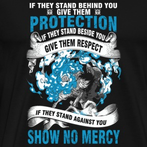 One piece - If they stand behind protect them te - Men's Premium T-Shirt