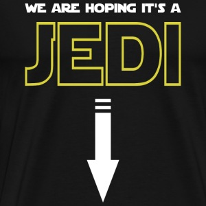 Jedi - We are hoping it's a jedi awesome t-shirt - Men's Premium T-Shirt