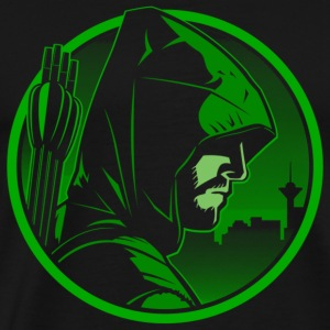 Green arrow - Green arrown awesome tee for fans - Men's Premium T-Shirt