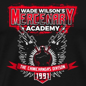 Deadpool - Wade Wilson's mercenary academy - Men's Premium T-Shirt