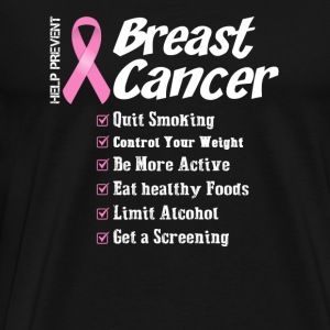 Breast cancer - Help prevent breast cancer t - s - Men's Premium T-Shirt