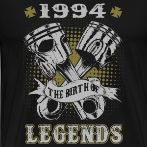 1994 - The birth of the legends awesome t-shirt - Men's Premium T-Shirt