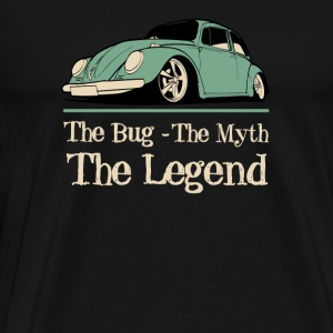Classic car - The bug the myth the legend t - sh - Men's Premium T-Shirt