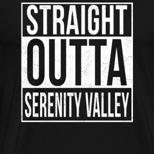 Serenity - Straight outta serenity valley tee - Men's Premium T-Shirt