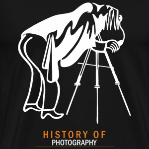Photographer - History of photography - Men's Premium T-Shirt