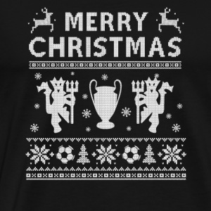 Premier League - Christmas league sweater for fa - Men's Premium T-Shirt