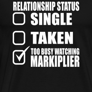 Markiplier - Too busy watching markiplier t - sh - Men's Premium T-Shirt