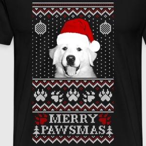 Christmas sweater for Great Pyrenees lover - Men's Premium T-Shirt