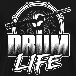 Drum player - Drum life T-shirt - Men's Premium T-Shirt