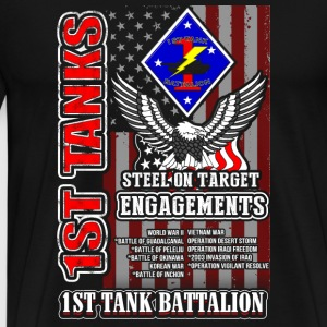 1st tanks battalion awesome t-shirt for U - Men's Premium T-Shirt