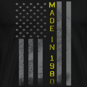 Made in 1980 in American – Awesome - Men's Premium T-Shirt
