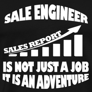 Sale engineer - It's not just a job awesome Tshi - Men's Premium T-Shirt