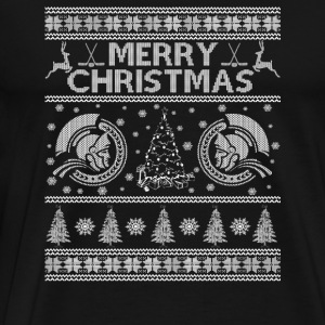 Ugly Christmas sweater for Ottawa Senators fan - Men's Premium T-Shirt