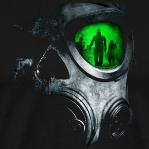 The_Green_Glas_Gas_Mask_Skull - Men's Premium T-Shirt