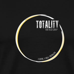 I Saw Totality Total Solar Eclipse (White) - Men's Premium T-Shirt