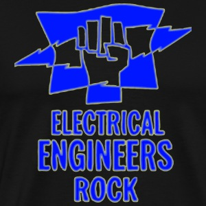 Electrical Engineers Rock - Men's Premium T-Shirt