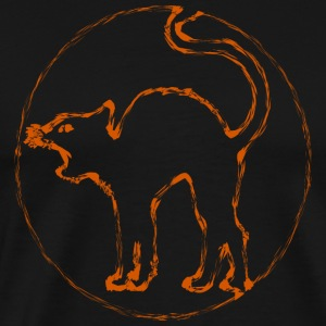 orange cat - Men's Premium T-Shirt