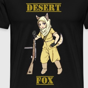Desert Fox Soldier - Men's Premium T-Shirt