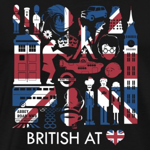 British Heart - Men's Premium T-Shirt