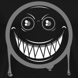 Happy Face Emoticon T Shirt Funny Cool - Men's Premium T-Shirt