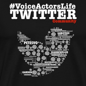 Voice Actors Life - Men's Premium T-Shirt