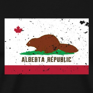 Alberta Republic - Men's Premium T-Shirt