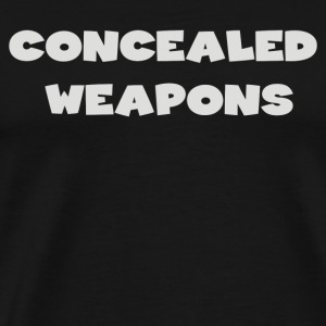 Concealed Weapons - Men's Premium T-Shirt