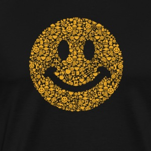 Smiley happy face - Men's Premium T-Shirt