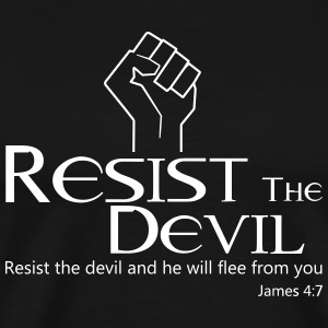 Resist The Devil! - Men's Premium T-Shirt
