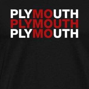 Plymouth United Kingdom Flag Shirt - Plymouth - Men's Premium T-Shirt