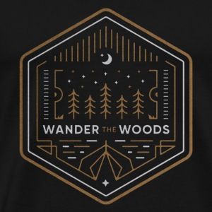 Wander the Woods - Men's Premium T-Shirt