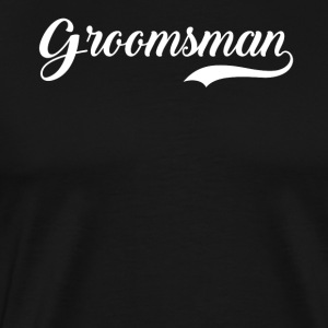 Groomsman Wedding Party - Men's Premium T-Shirt