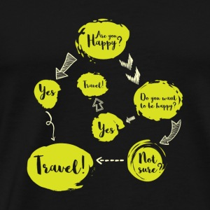 Traveler's Decision Process gift - Men's Premium T-Shirt