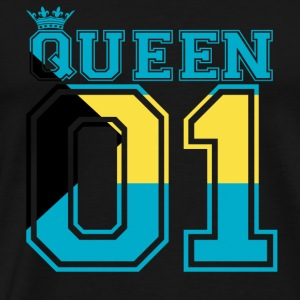 partner land queen 01 princess Bahamas - Men's Premium T-Shirt