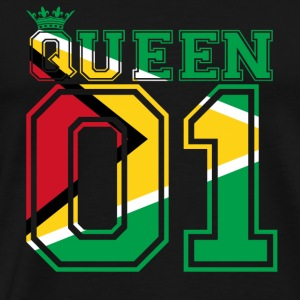 partner land queen 01 princess Guyana - Men's Premium T-Shirt