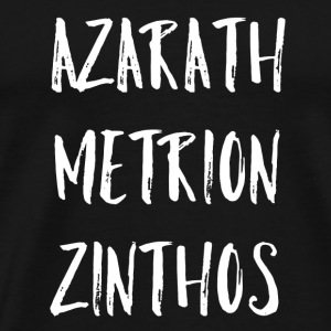 Azarath Metrion Zinthos - Men's Premium T-Shirt