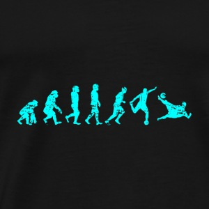 EVOLUTION Ape Soccer Gift Man Kick Goalgetter Cup - Men's Premium T-Shirt