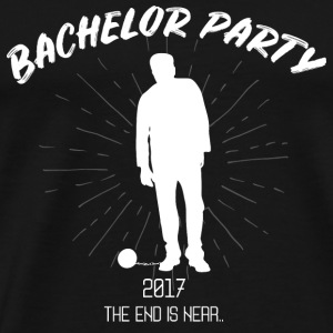 BACHELOR PARTY MARRIAGE WEDDING GIFT GROOM - Men's Premium T-Shirt