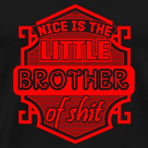 GIFT - LITTLE BROTHER RED - Men's Premium T-Shirt