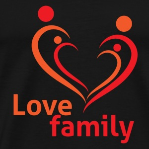 GIFT - LOVE FAMILY - Men's Premium T-Shirt