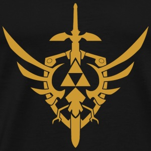 Triforce Zelda - Men's Premium T-Shirt
