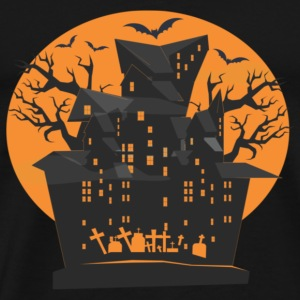 Halloween House - Men's Premium T-Shirt